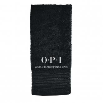 Petite serviette OPI noir (30 x 50 cm)