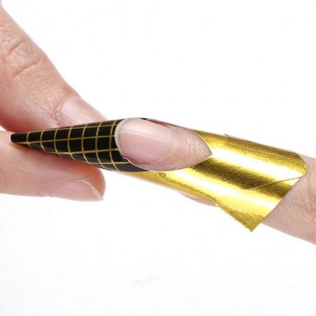 Nail Forms Gold 500 stuks