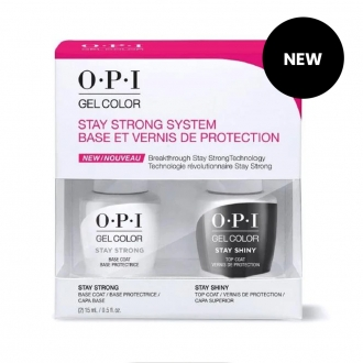 GelColor Stay Strong system Duo (Base + Top)