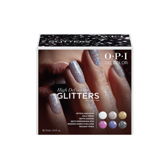 High definition glitters - GelColor Add-on kit