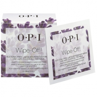 Wipe-Off! Acetone-free Lacquer Remover Wipes