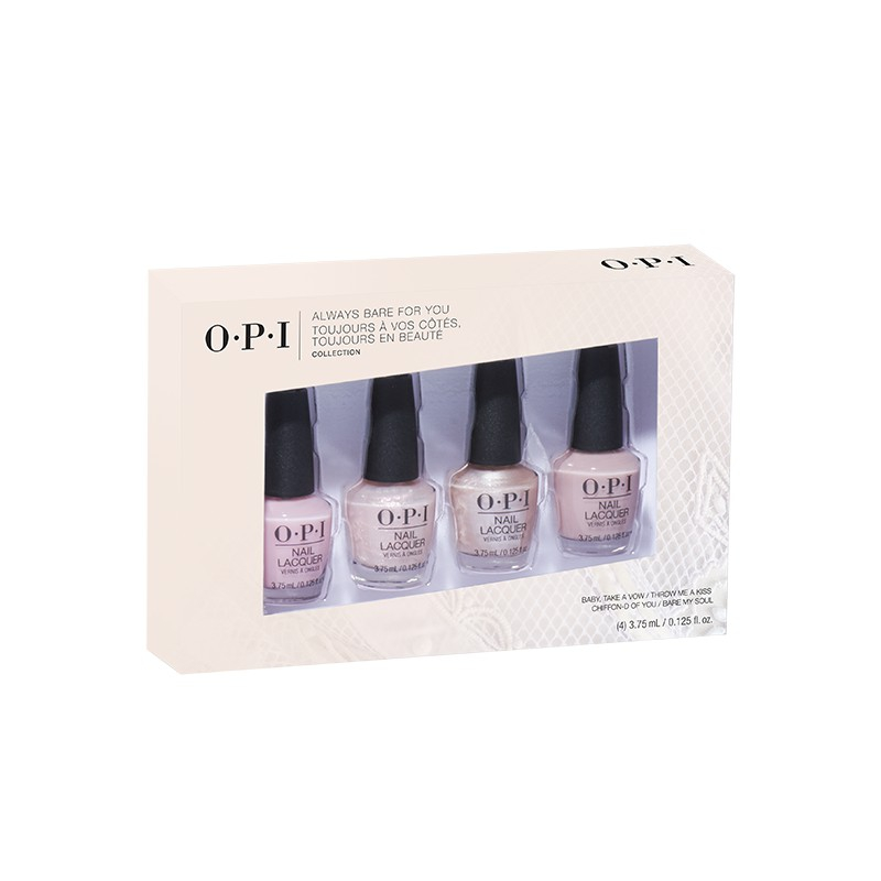 Always Bare for You - Vernis à ongles Mini-4-pack