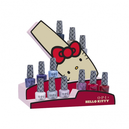Hello Kitty Holiday Collection - Nagellak Display (12 stuks)
