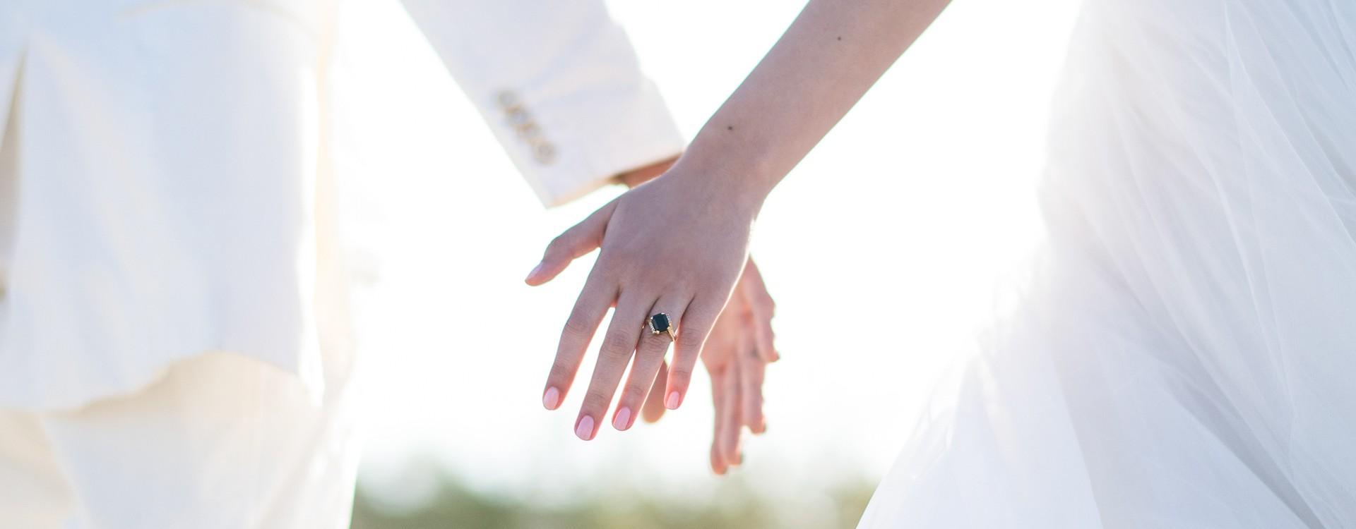 Hier komt de bruid!
